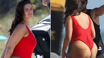 Modelka Ashley Graham pózovala v štýle Baywatchu