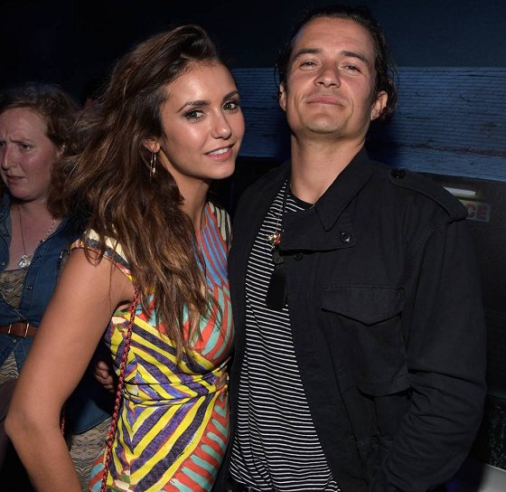 Orlando Bloom a Nina Dobrev