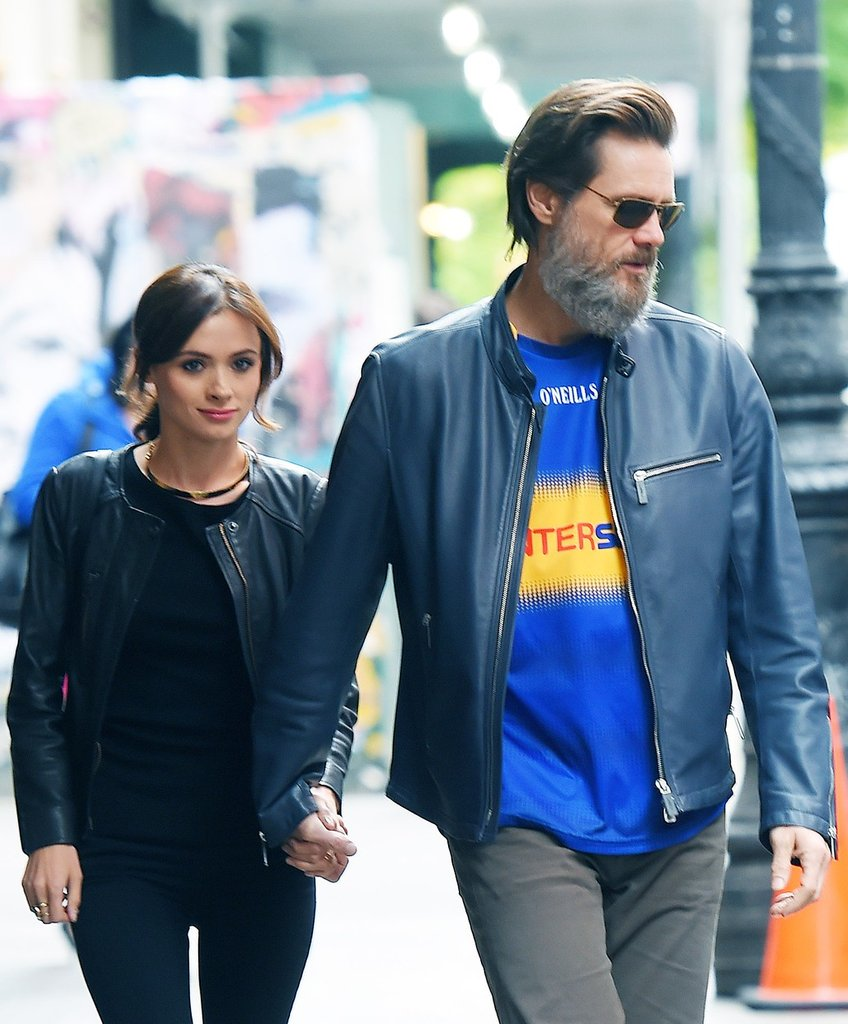 Jim Carrey a Cathriona White