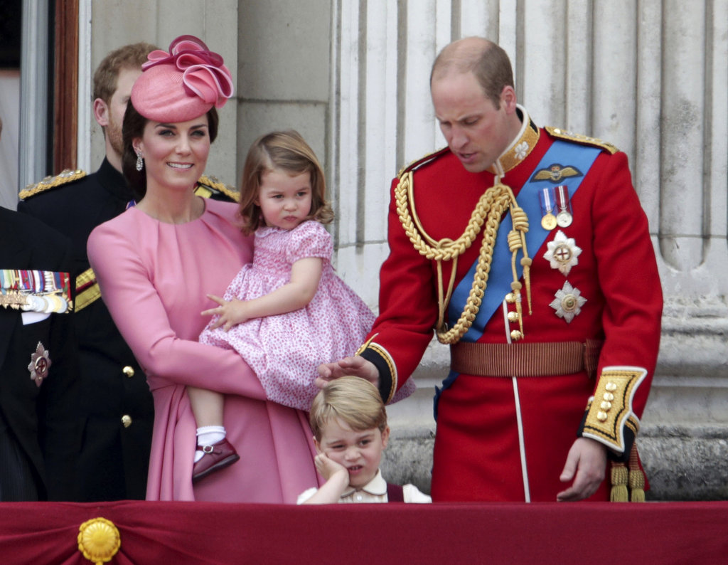 Kate Middleton, princ William, pinc George a princezá Charlotte.