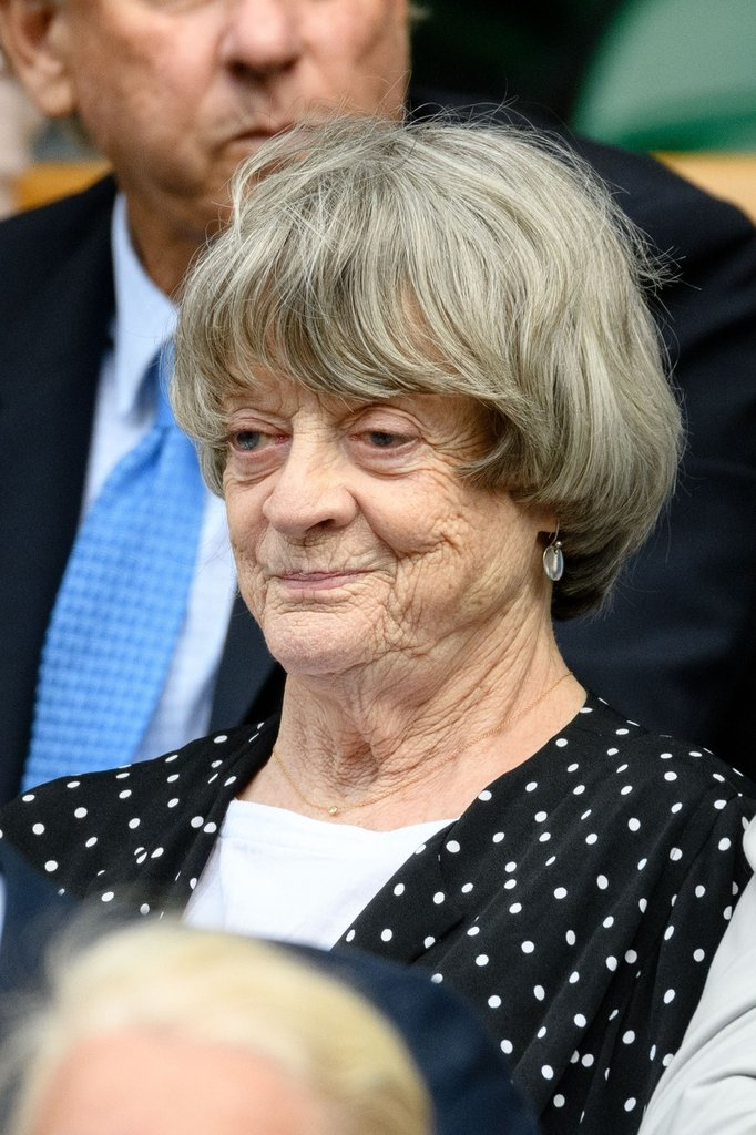 Maggie Smith vo Wimbledone