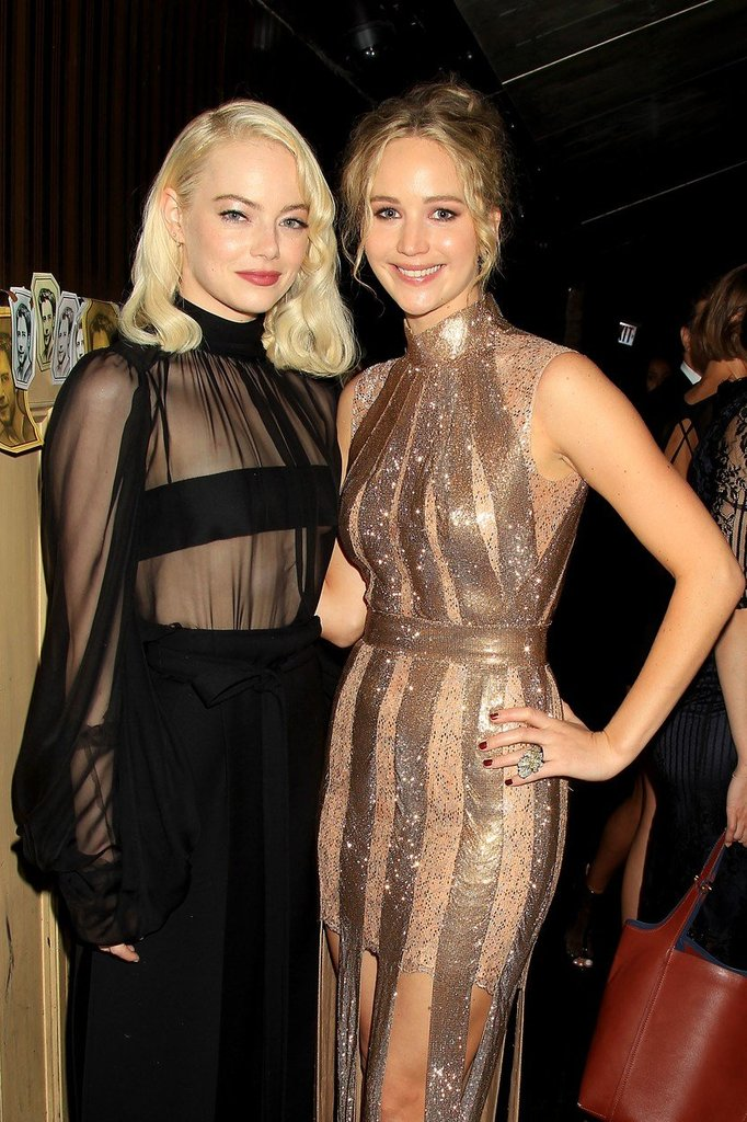 Emma Stone a Jennifer Lawrence