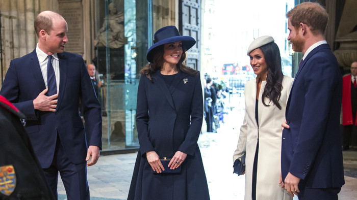 Princ William, Kate, Meghan Markle a princ Harry,