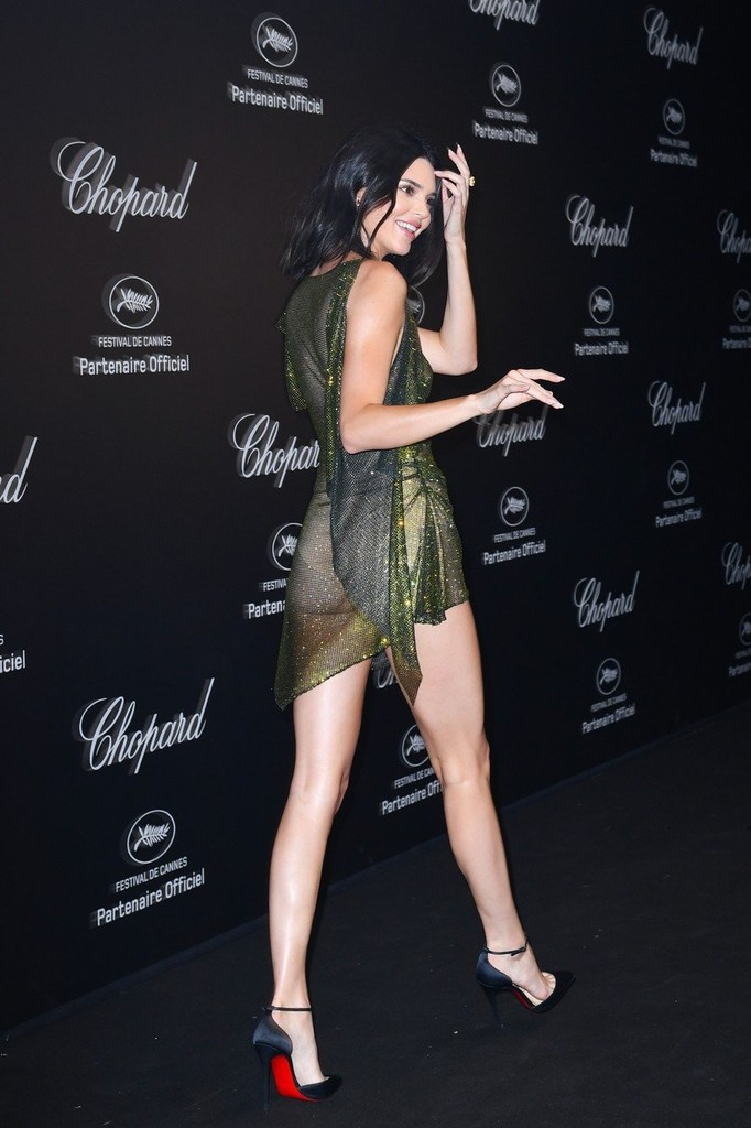 Kendall Jenner na Secret Chopard party v Cannes