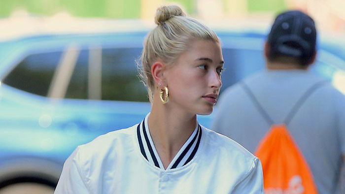 Hailey Baldwin po prílete do New Yorku