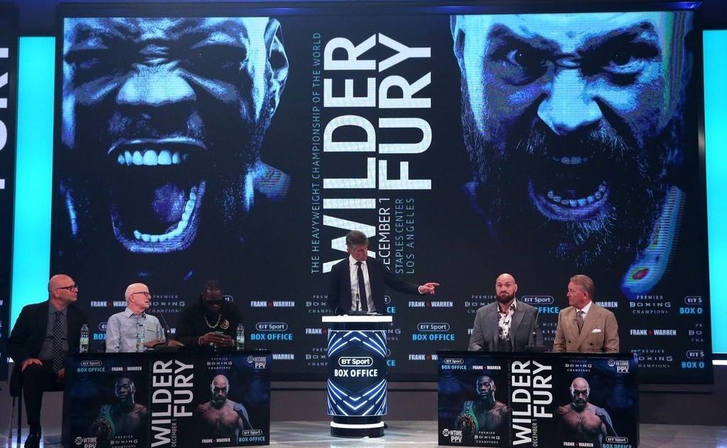 Wilder vs Fury.