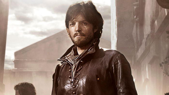 Athos (Tom Burke)
