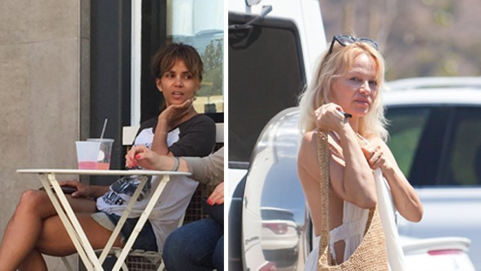 Halle Berry a Pamela Anderson