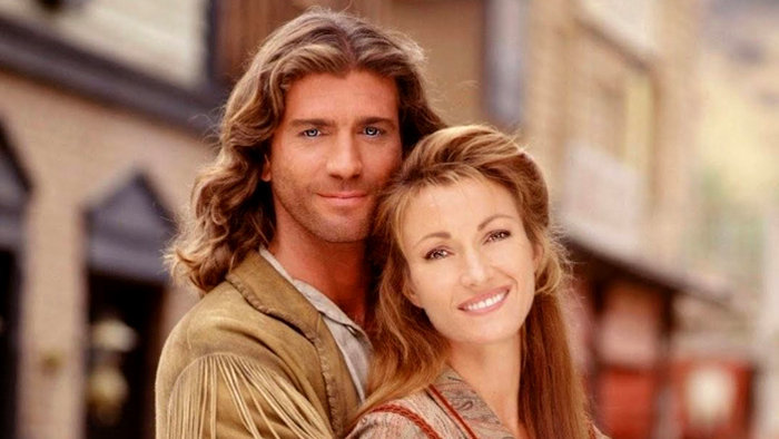 Joe Lando a Jane Seymour ako Sully a Mike v Doktorke Quinnovej