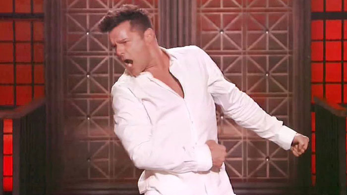 Ricky Martin v šou Lip Sync Battle