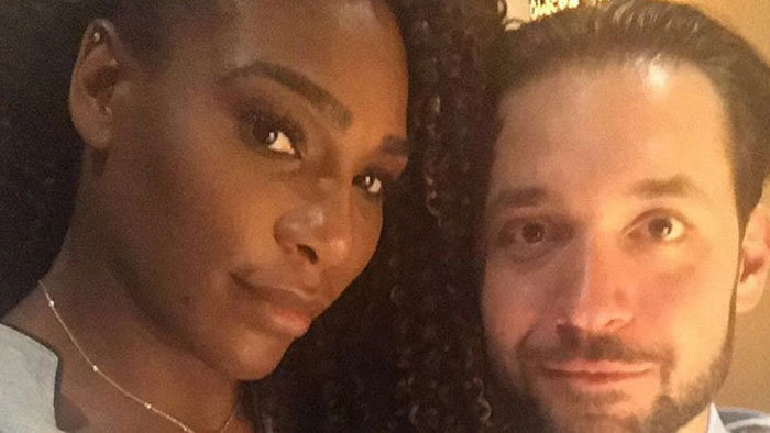 Serena Williams a Alexis Ohanian