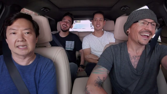 Linkin Park s Chestrom Benningtonom v Carpool Karaoke