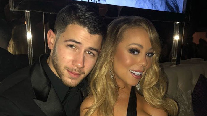 Nick Jonas a Mariah Carey
