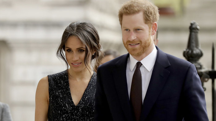 Princ Harry a Meghan Markle.