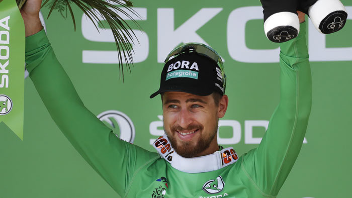 Peter Sagan vyhral 10. etapu na Tour de France