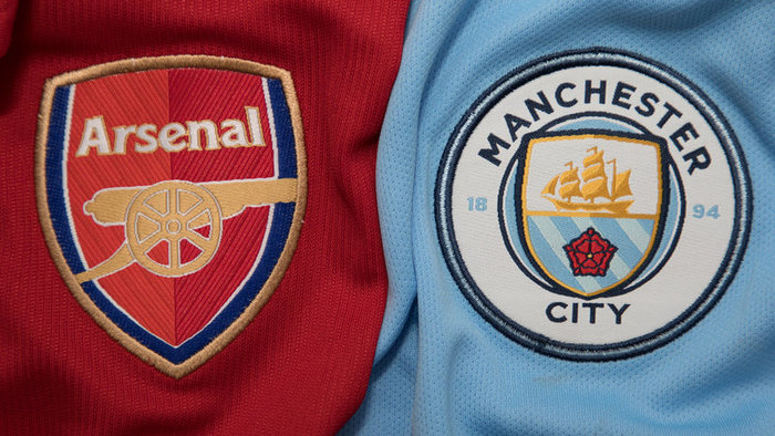 Arsenal vs Manchester City.