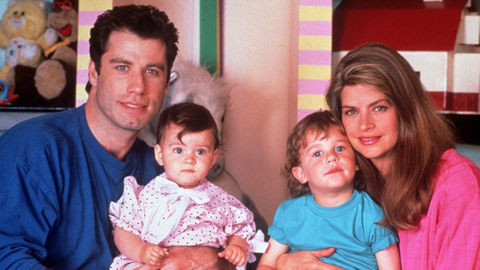 John Travolta a Kirstie Alley