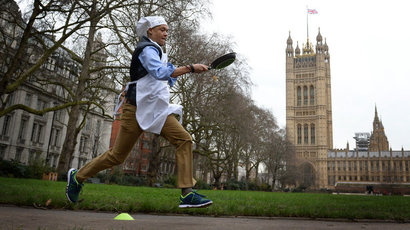 Britain Parliamentary Pancake Race213692.jpg